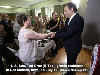 Rand Paul, Ted Cruz encourage Christian conservatives to engage in politics