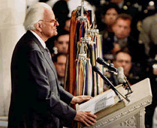 Billy Graham: 'My Heart Aches for America'