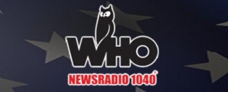 David Lane on WHO News Talk Radio