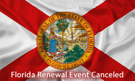 Florida Event Canceled