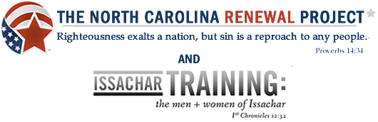 North Carolina Renewal and Issachar Banner
