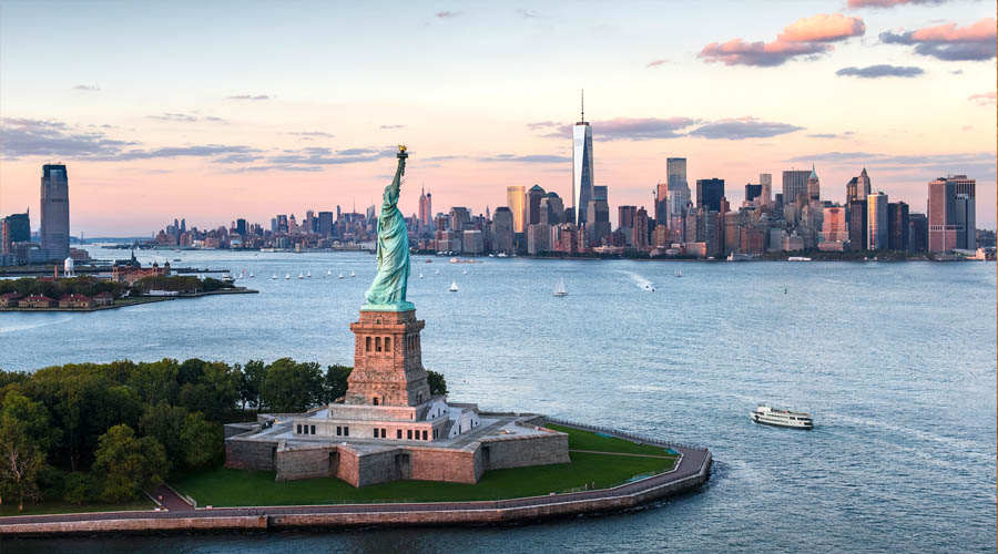 "Statue of Liberty – ""America–a last effort of Divine Providence in behalf of the human race.""- Ralph Waldo Emerson"