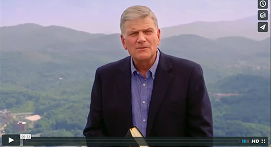 Watch 3 encouraging video clips from Franklin Graham's Decision America Tour 2016