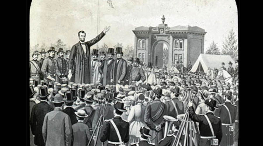 "Gettysburg Address-""Government of THE PEOPLE, by THE PEOPLE, for THE PEOPLE"""