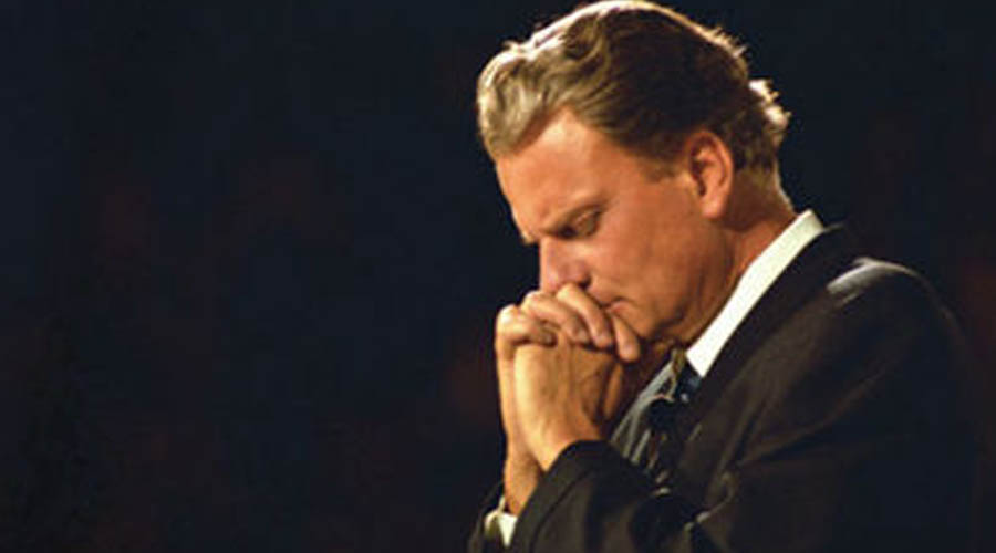 """Americans see the storm clouds gathering on the horizon…This is a time for repentance & faith."" -Billy Graham"