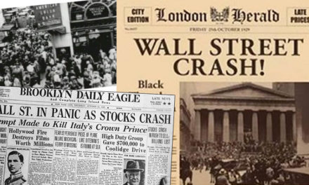 "Stock Market Crash ""Our Country & World are involved in More than a Financial Crisis"" -Hoover"