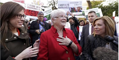 WA State Supreme Court Rules Against Grandma in Gay Wedding Debacle