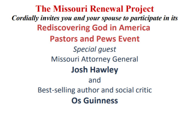 Missouri Ministry Leaders and Spouses, December 2017