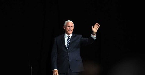 Mike Pence criticized for praying for critics.