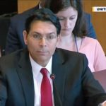 "Danon shows UN the Bible: ""This is the deed to our land"""